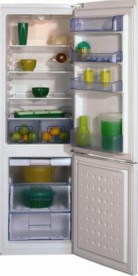 Холодильник с морозильником Beko CSK29000 - вид спереди