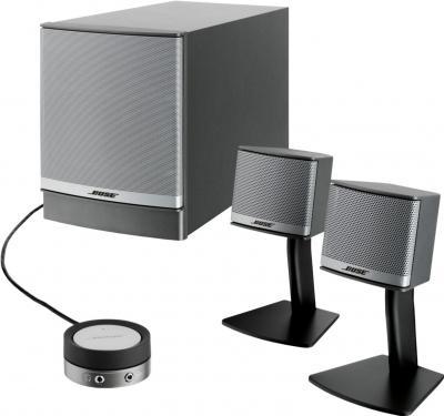 Мультимедиа акустика Bose Companion 3 (графит) - общий вид