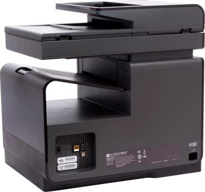 МФУ HP Officejet Pro X576dw (CN598A) - вид сзади