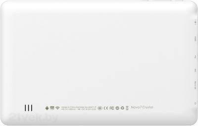 Планшет Ainol Novo 7 Crystal (White) - вид сзади