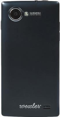 Смартфон Wexler ZEN 4.7 (Black) - задняя панель