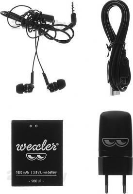 Смартфон Wexler ZEN 4.7 (Black) - аксессуары