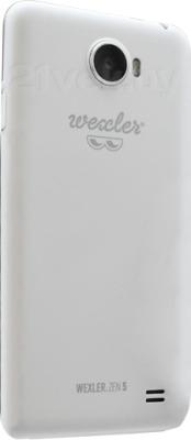 Смартфон Wexler ZEN 5 (белый) - задняя панель