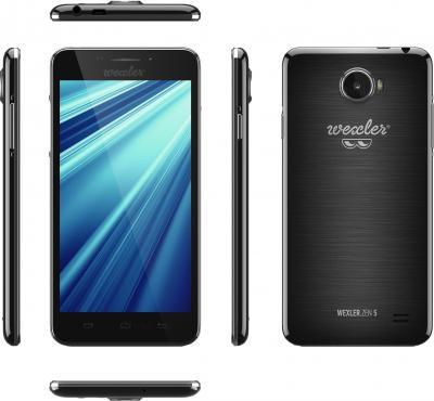 Смартфон Wexler ZEN 5 (черный) - обзор всех панелей