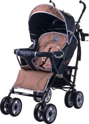 Детская прогулочная коляска Caretero Spacer Deluxe (бежевый) - общий вид