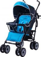 Детская прогулочная коляска Caretero Spacer Deluxe (синий) -