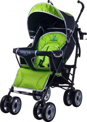 Детская прогулочная коляска Caretero Spacer Deluxe (зеленый) - общий вид