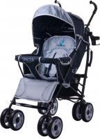 Детская прогулочная коляска Caretero Spacer Deluxe (серый) -
