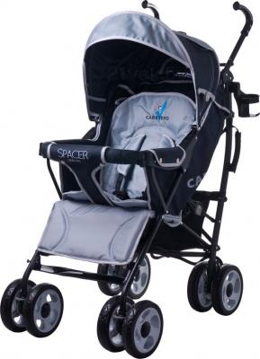Детская прогулочная коляска Caretero Spacer Deluxe (серый) - общий вид