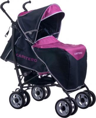 Детская прогулочная коляска Caretero Spacer Deluxe (лаванда) - чехол для ног