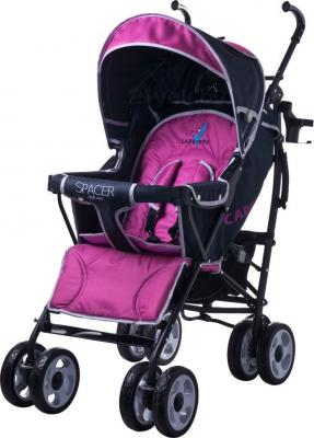 Детская прогулочная коляска Caretero Spacer Deluxe (лаванда) - общий вид