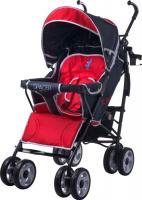 Детская прогулочная коляска Caretero Spacer Deluxe (красный) -