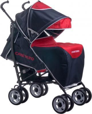 Детская прогулочная коляска Caretero Spacer Deluxe (красный) - чехол для ног