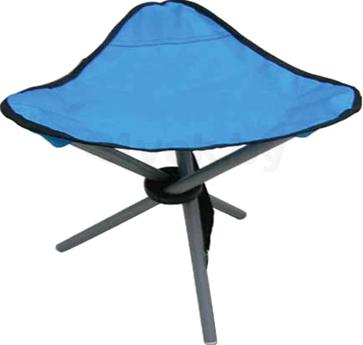 Табурет складной NoBrand 171.002 (голубой) - общий вид