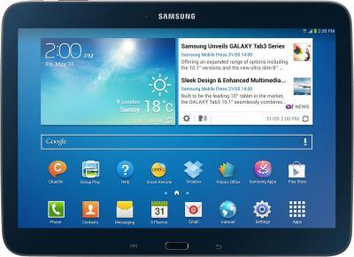 Планшет Samsung Galaxy Tab 3 10.1 16GB 3G Jet Black (GT-P5200) - общий вид