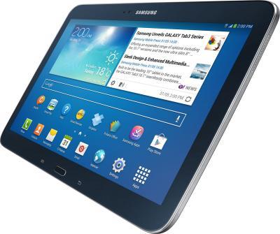 Планшет Samsung Galaxy Tab 3 10.1 16GB 3G Jet Black (GT-P5200) - вполоборота