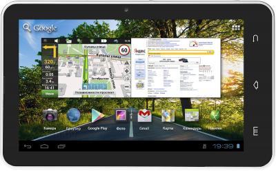 Планшет Treelogic Gravis 73 3G Gb GPS - вид спереди