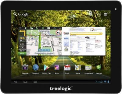 Планшет Treelogic Gravis 97 3G GPS - общий вид