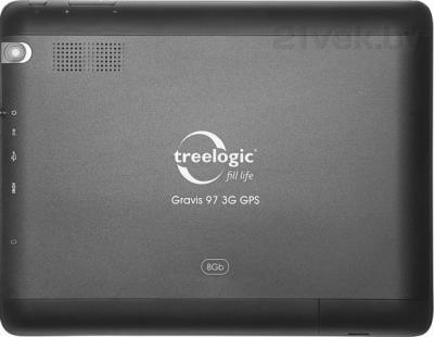 Планшет Treelogic Gravis 97 3G GPS - вид сзади