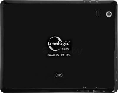 Планшет Treelogic Brevis 971DC 8Gb 3G - вид сзади