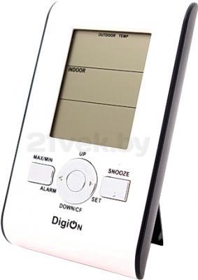 Метеостанция цифровая DigiOn PTE0102T - общий вид