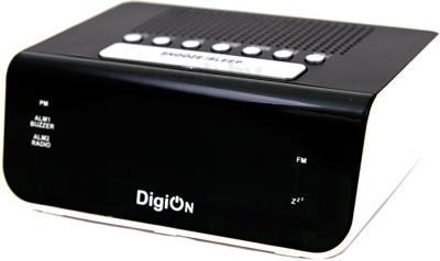 Радиочасы DigiOn PTE0606AF - общий вид