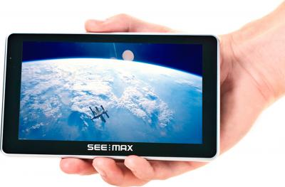 GPS навигатор SeeMax navi E510 HD BT 8GB ver. 3 - компактный