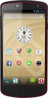 Смартфон Prestigio MultiPhone 7500 (32GB, черный) - общий вид
