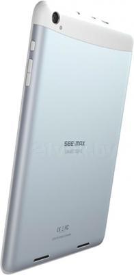 Планшет SeeMax Smart TG810 (3G, 4GB, White) - вид сзади