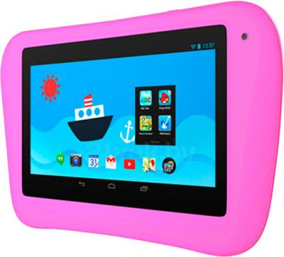 Планшет SeeMax Smart Kid S70 Lite (4Gb, розовый) - вполоборота
