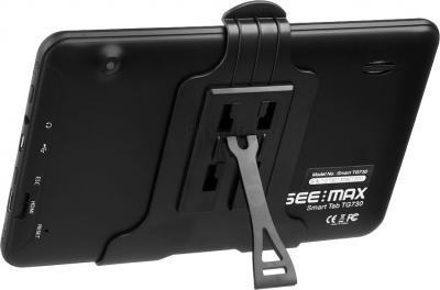 Планшет SeeMax Smart TG730 (8Gb, Black) - вид сзади