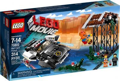 Конструктор Lego Movie 70802 Преследование Злого Копа - упаковка
