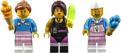 Конструктор Lego Movie 70804 Машина с мороженым - минифигурки
