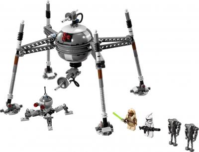 Конструктор Lego Star Wars 75016 Самонаводящийся дроид-паук - общий вид