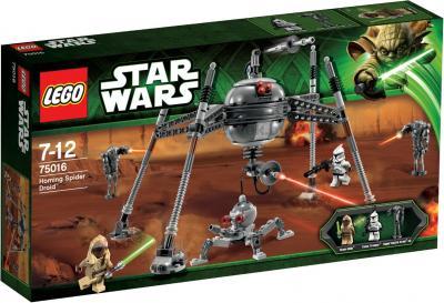 Конструктор Lego Star Wars 75016 Самонаводящийся дроид-паук - упаковка