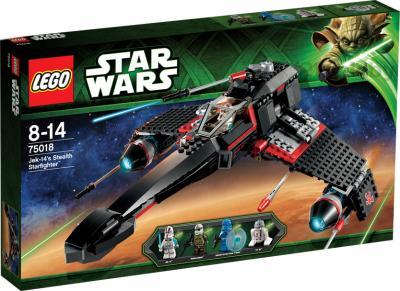 Конструктор Lego Star Wars 75018 Секретный корабль воина Jek-14 - упаковка