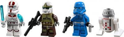 Конструктор Lego Star Wars 75018 Секретный корабль воина Jek-14 - минифигурки