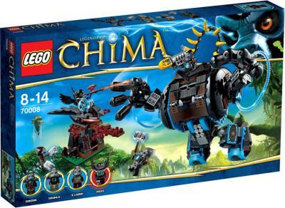 Конструктор Lego Chima 70008 Боевая машина гориллы Горзана - упаковка
