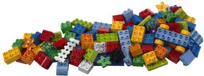 Конструктор Lego Duplo 5507 Коробка с кубиками Делюкс - детали