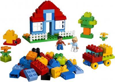 Конструктор Lego Duplo 5507 Коробка с кубиками Делюкс - общий вид