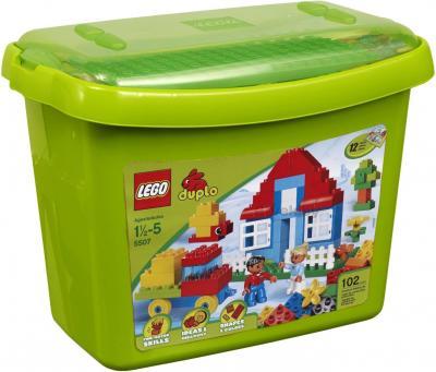 Конструктор Lego Duplo 5507 Коробка с кубиками Делюкс - коробка