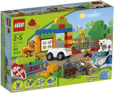 Конструктор Lego Duplo 6136 Мой первый Зоопарк - упаковка