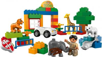 Конструктор Lego Duplo 6136 Мой первый Зоопарк - общий вид