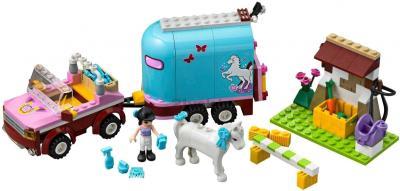 Конструктор Lego Friends 3186 Эмма и трейлер для её лошадки - общий вид