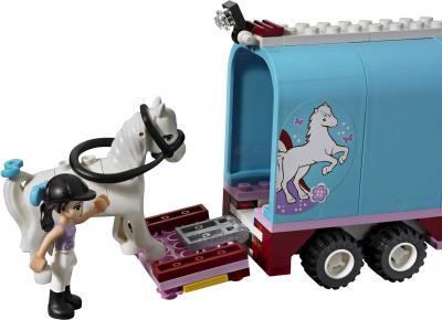 Конструктор Lego Friends 3186 Эмма и трейлер для её лошадки - погрузка лошади