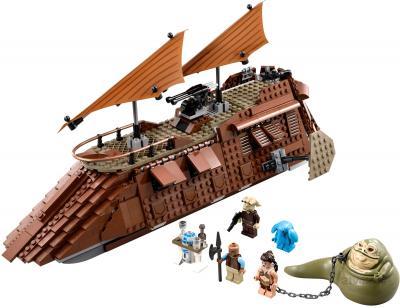 Конструктор Lego Star Wars 75020 Пустынный корабль Джаббы - общий вид