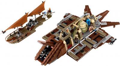 Конструктор Lego Star Wars 75020 Пустынный корабль Джаббы - внутри корабля