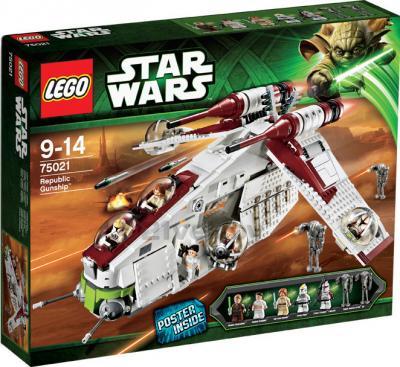 Конструктор Lego Star Wars 75021 Республиканский истребитель - общий вид