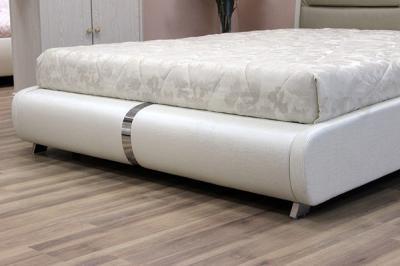 Двуспальная кровать Королевство сна VERA (180x200 золотая с жемчужным) - нижняя часть кровати