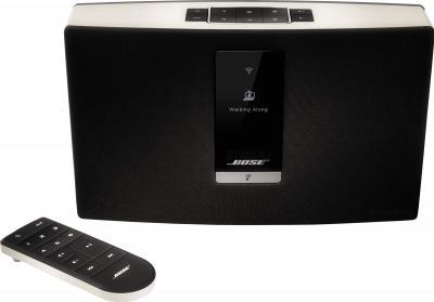 Портативная акустика Bose SoundTouch Portable Wi-Fi Music System (бело-черный) - общий вид